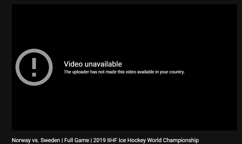 Hockey VM 2019 på nätet